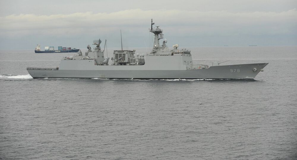 Republic of Korea destroyer Wang Geon (DDH 978)