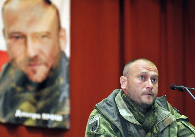 Right Sector's leader Dmitry Yarosh