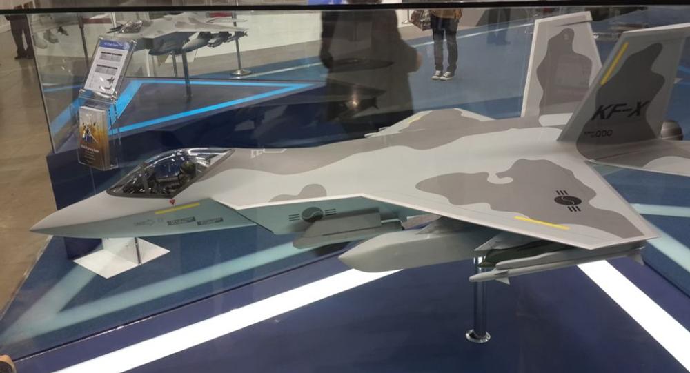 KAI KF-X Fighter Jet