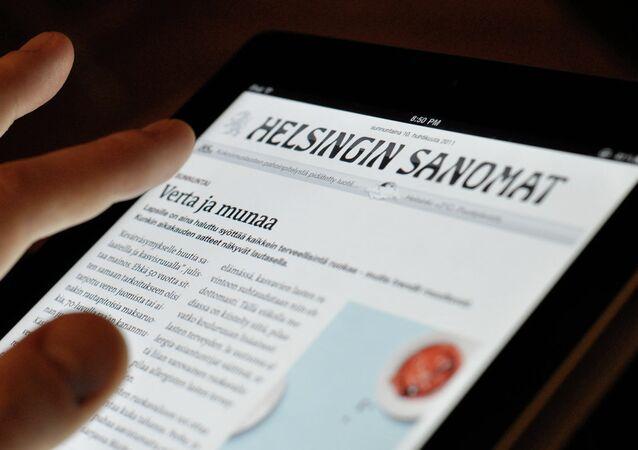 Finnish Helsingin Sanomat newspaper