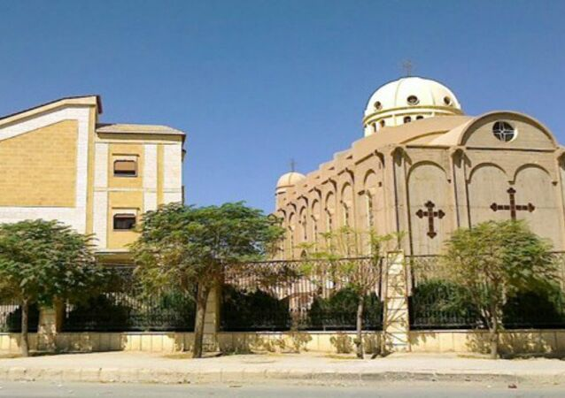 Church of the Virgin Mary in the northeastern Syrian province of Hasakah