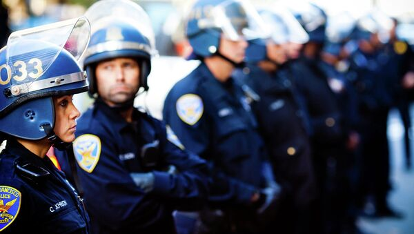 San Francisco riot police - Sputnik International