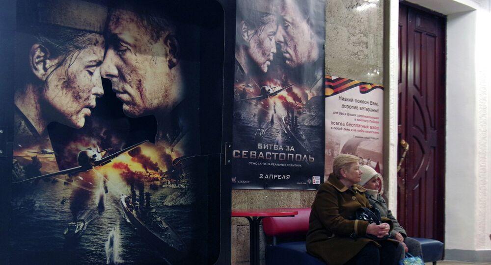 Presentation of film Battle for Sevastopol in Sevastopol