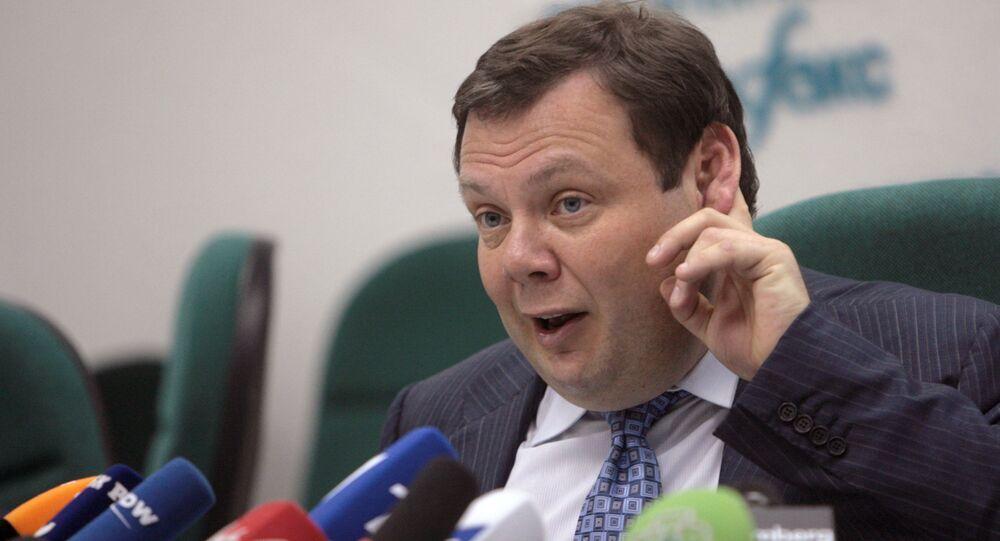 Mikhail Fridman, head of British-Russian oil venture TNK-BP