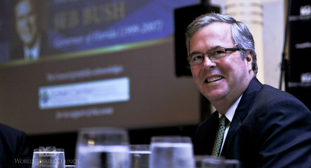 One of the main neo-conservative architects of the United States' invasion of Iraq reportedly is advising Jeb Bush.