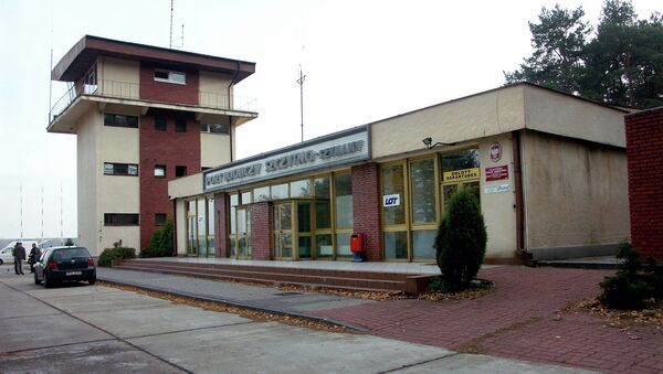 This Thursday, Nov. 3, 2005 file photo shows the control tower of the airport in Szymany, in northeastern Poland - Sputnik International