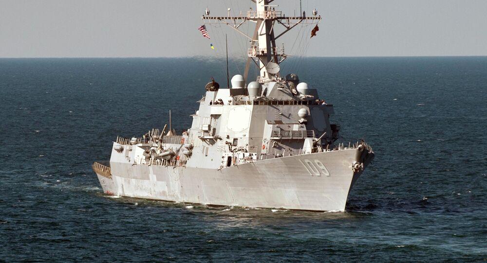 USS Jason Dunham operates in the Black Sea