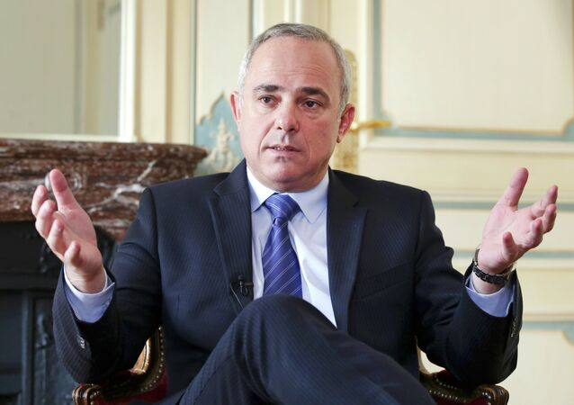 Yuval Steinitz, Israel's minister for strategic affairs