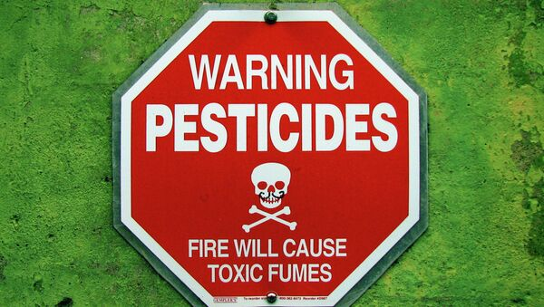 While the family was staying at a second floor condo, the pesticide company, Terminix, fumigated the lower unit. - Sputnik International