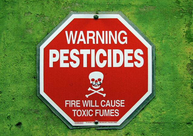 While the family was staying at a second floor condo, the pesticide company, Terminix, fumigated the lower unit.