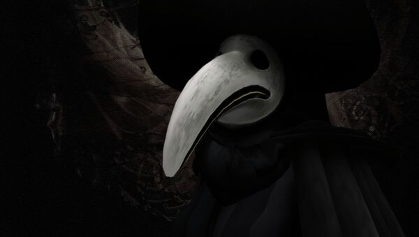 Plague doctors were special physicians who treated those with with the Bubonic Plague  - Sputnik International