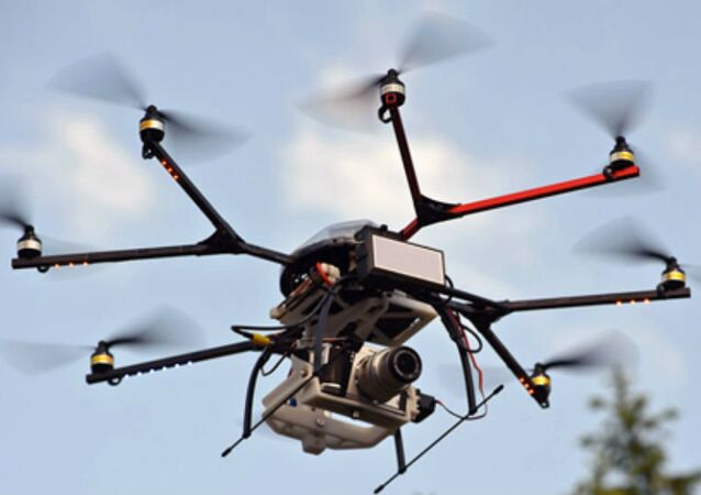 This drone has an advanced electronically scanning radar on board, equipment usually much too bulky and expensive for such small craft.