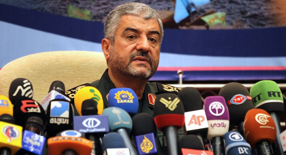 Iranian Revolutionary Guards commander Brigadier General Mohammad Ali Jafari