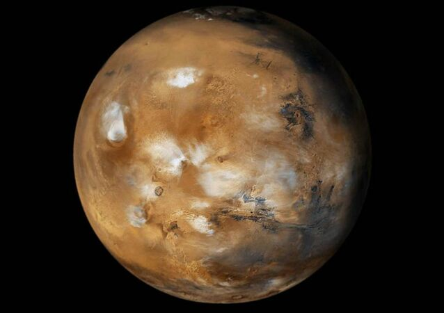 It is a well-known fact that Mars has thick layers of glacier formations, but until recently Researchers did not know what they were made up of, or even how much.
