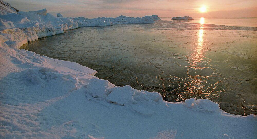 An Arctic dawn