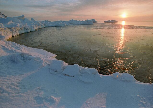 An Arctic dawn