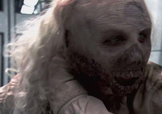 Subway Zombie Prank