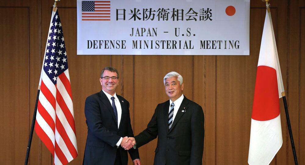 New US-Japan military guidelines will intensify joint efforts to deter North Korean aggression, US Defense Secretary Ashton Carter stated during a joint US-Japan press briefing on Monday.