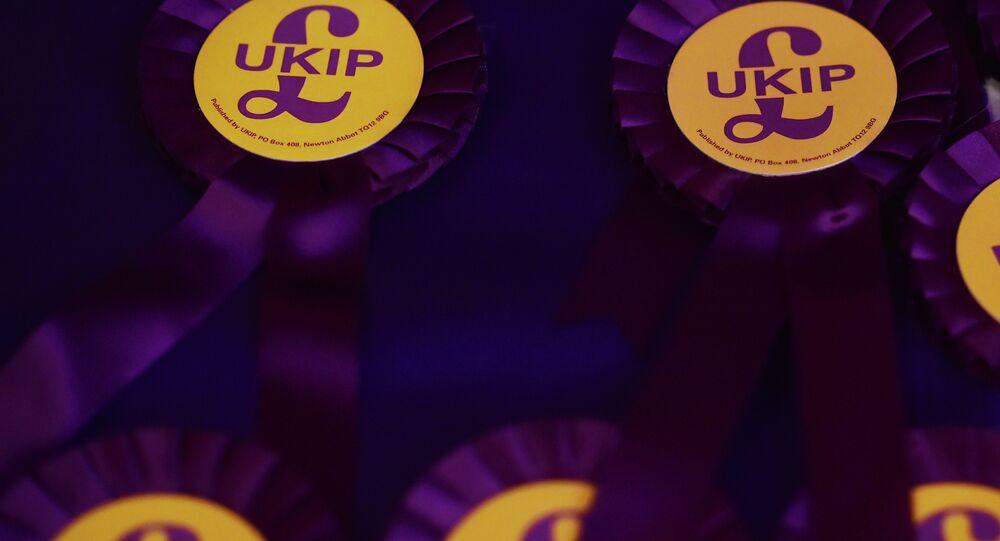 UK Independence Party (UKIP) rosettes