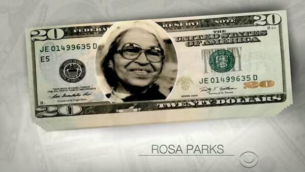 Rosa Parks on the 20 - Sputnik International