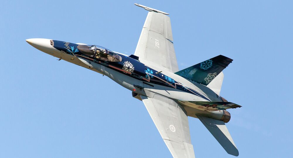 Royal Canadian Air Force ( RCAF) CF-18