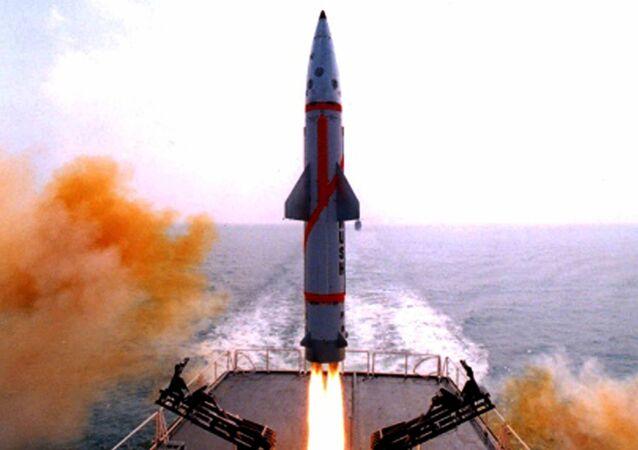 Indian Missile Dhanush
