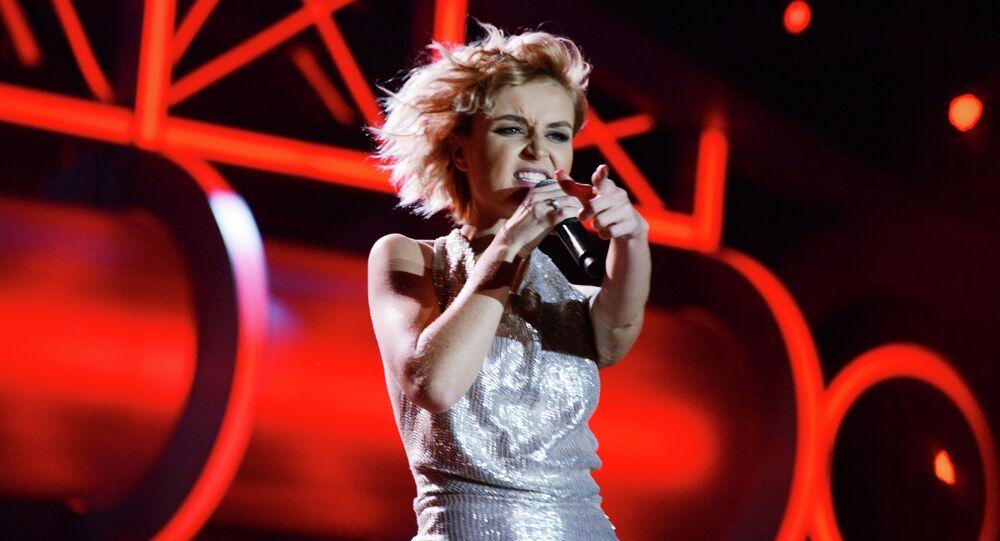 Singer Polina Gagarina