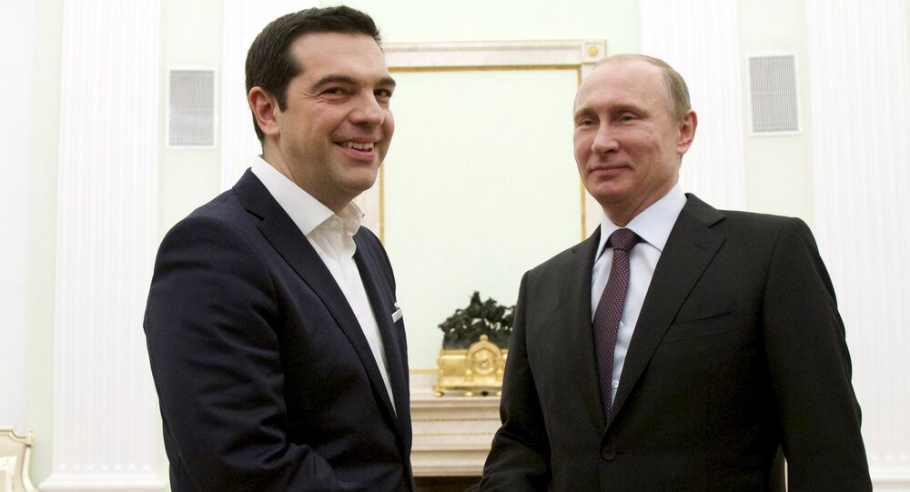 Russian President Vladimir Putin and Greek Prime Minister Alexis Tsipras are likely to hash out a deal to build a gas pipeline in Greece at their upcoming June meeting in St. Petersburg