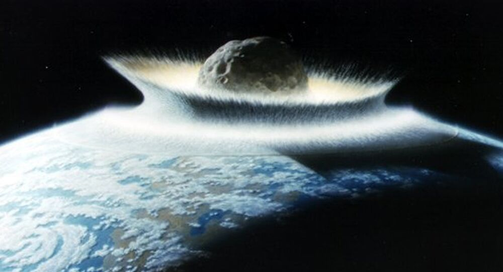 The asteroid that killed the dinosaurs.