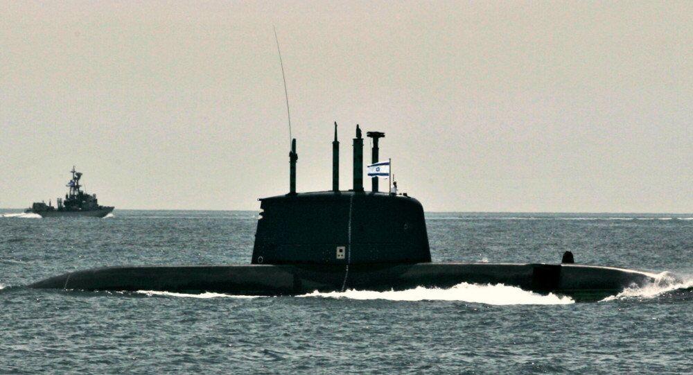 A dolphin class submarine
