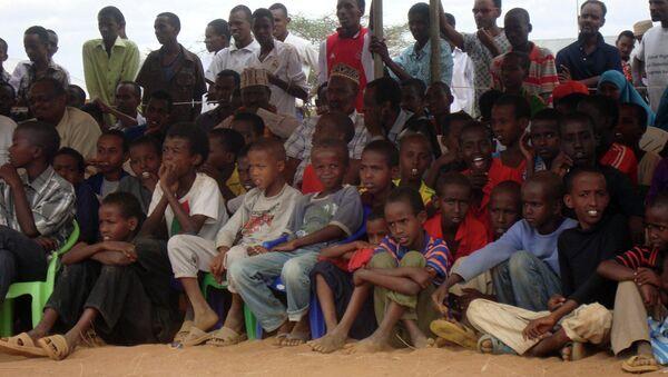 Somali refugees at the Dadaab refugee camp in Northern Kenya - Sputnik International