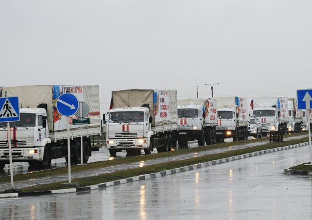 Russia sends 23rd humanitarian aid convoy to Donbas