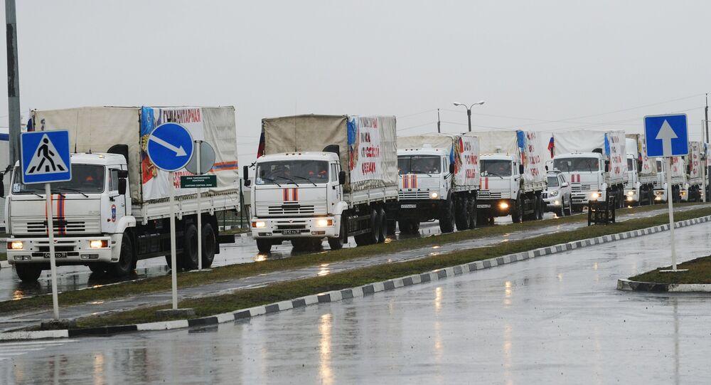 Russia sends 23rd humanitarian aid convoy to Donbas