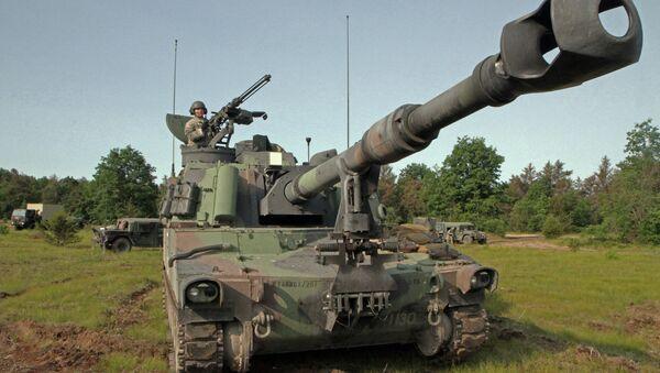 US Paladin M109A6 artillery system - Sputnik International