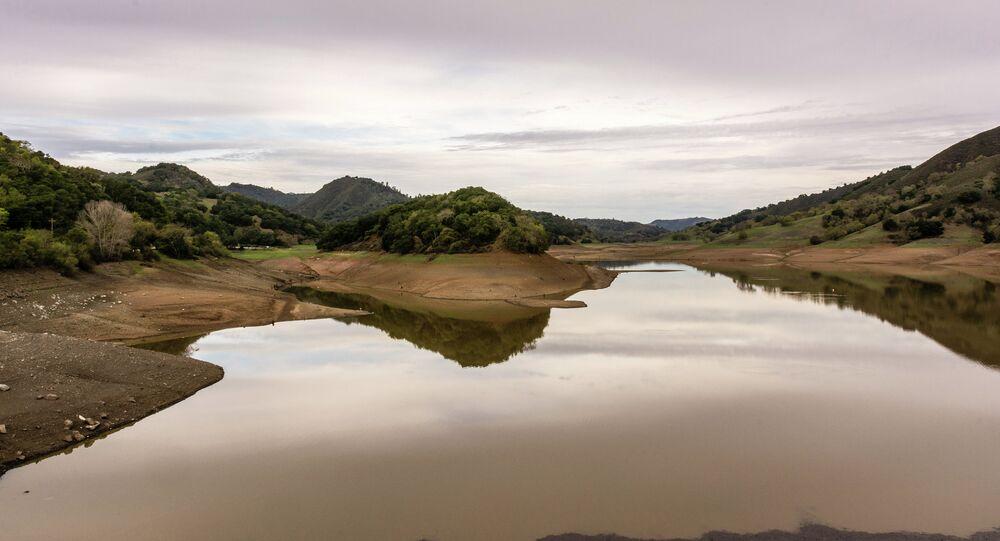 Uvas Reservoir, California