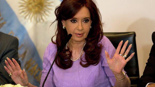 Argentinian President Christina Fernandez de Kirchner - Sputnik International