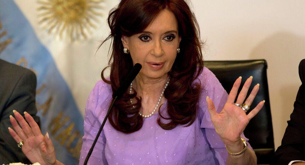 Argentinian President Christina Fernandez de Kirchner
