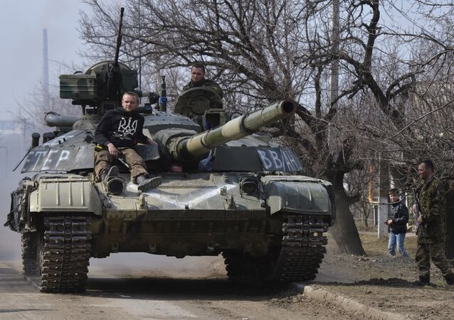 Soldiers of the Ukrainian Army recorded a video message to President Petro Poroshenko in which they stated that they will no longer accept orders from Kiev.