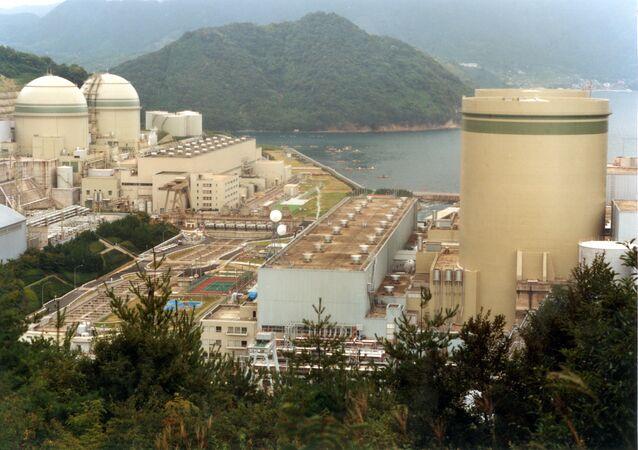 Takahama nuclear power plant.