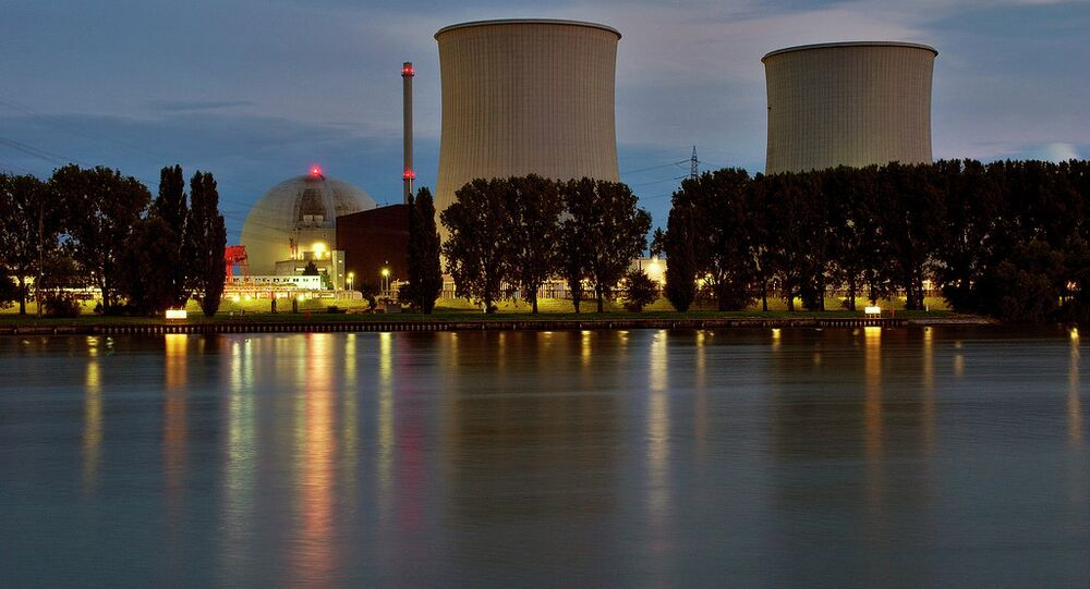 Nuclear power plant in Biblis, Germany