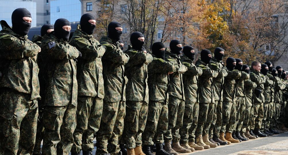 Azov battalion students dispatched to southeastern Ukraine