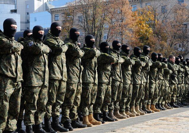 Azov battalion students dispatched to southeastern Ukraine