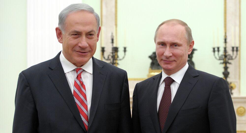 Vladimir Putin meets with Benjamin Netanyahu