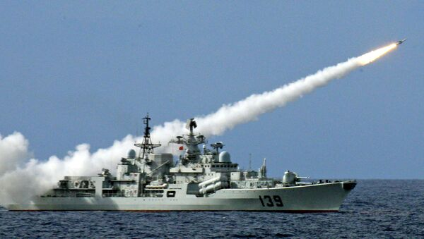 China is outfitting new naval destroyers with their potent new anti-ship missiles, which pose serious challenges to US naval defenses. - Sputnik International