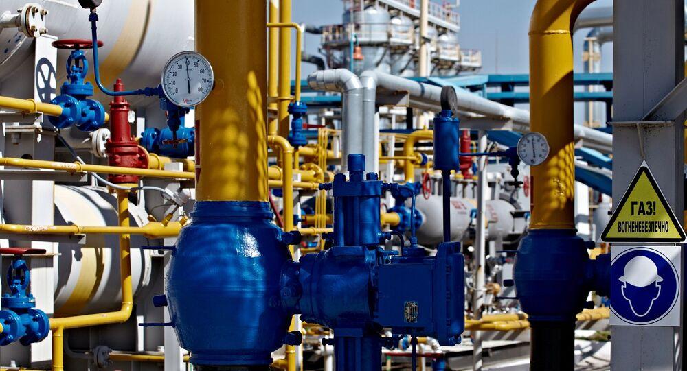 Shebelinka gas processing unit