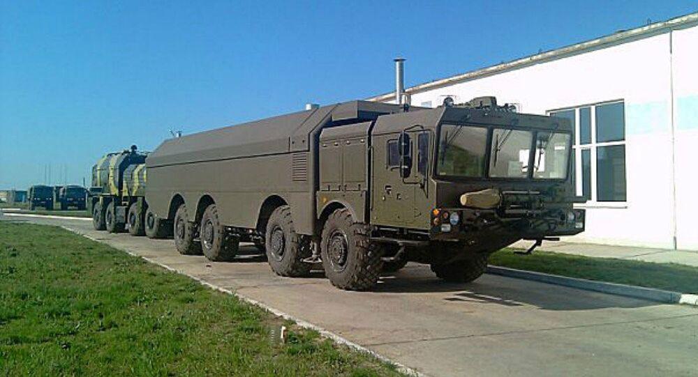 The K-300P Bastion-P coastal defense system.