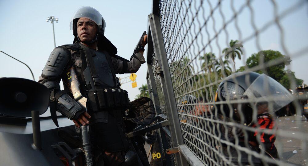 Indonesian anti-riot police