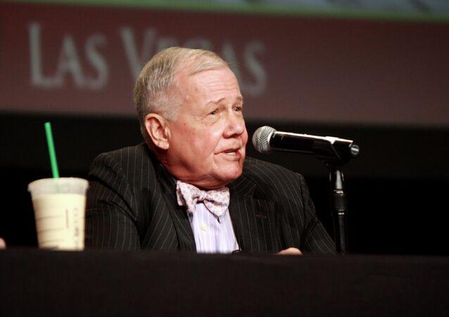 Jim Rogers speaking at the 2013 FreedomFest in Las Vegas, Nevada.