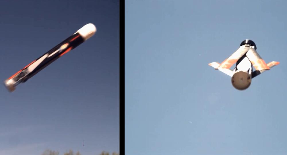 Testing of LOCUST launcher and UAV