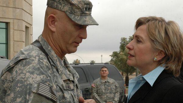 Iraq Clinton visit - Sputnik International